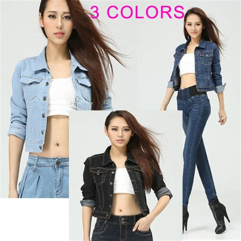aliexpress buy 2014 new fashion spring women korean style 2014 new spring denim jacket female long sleeved korean