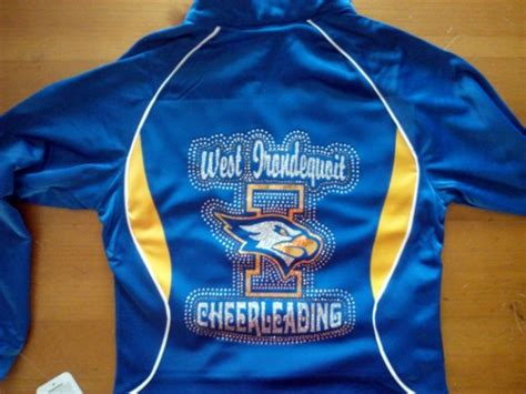 Design Cheer Jacket | don t be cornered by embroidery
