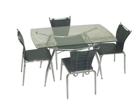 glass kitchen table and chairs glass dining tablecontemporary glass satin table chairs