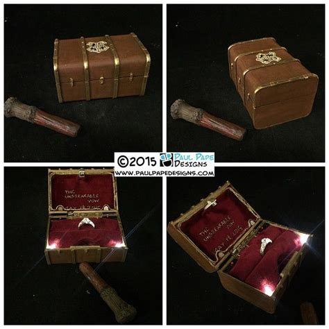 harry potter engagement ring box geeky things to buy pinterest fans jewelry and