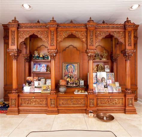 Pooja Room Designs in Wood   Pooja Room   Woods, Room and
