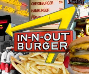 In N Out Burger Gift Card - free 10 in n out burger gift card with aaa quote california free product sles