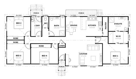 simple 4 bedroom house plans the gallery for gt simple house plan with 4 bedrooms