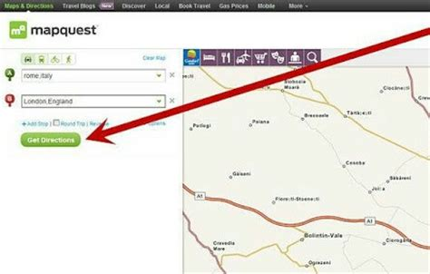 printable step by step driving directions what is mapquest and how to use it