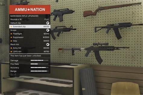 gta  lts update heavy shotgun marksman rifle upgrades