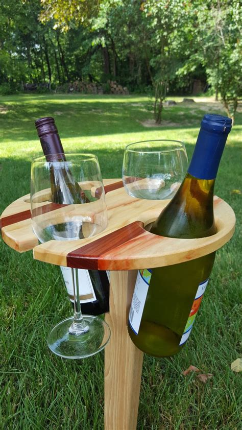 outdoor wine glass holder table 17 best ideas about wine table on dining room