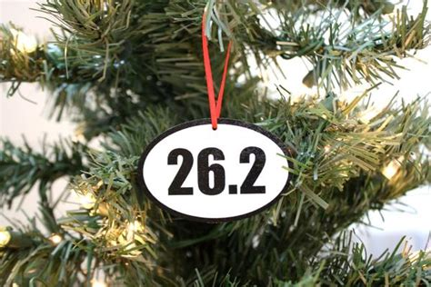 best christmas list items for runners 26 2 running ornament great gift for marathon runners york sign shop