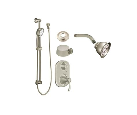 Moen Shower Valve Parts by Faucet Vshtbn In Brushed Nickel By Moen