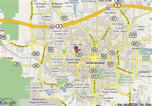 florida map tallahassee map of tallahassee days inn center tallahassee