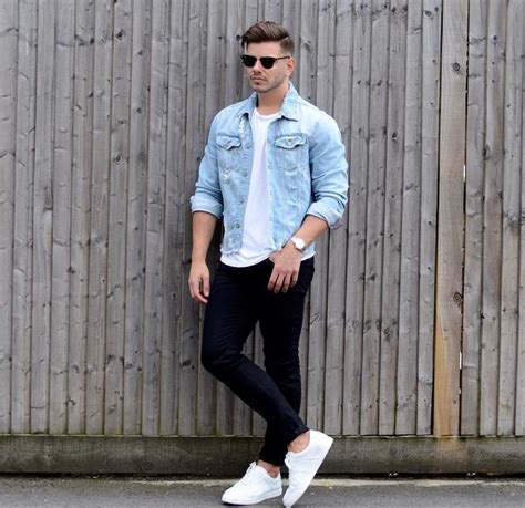 style for guys the 25 best denim jacket ideas on s