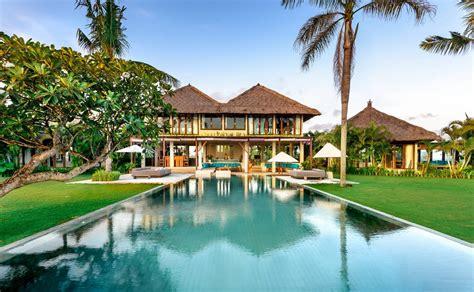 bedroom luxury beachfront pool villa canggu bali