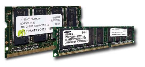 laptop ram ddr pc2700 ddr333 ram ddr 1 memory