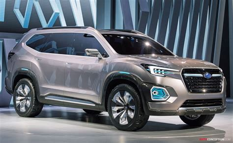 subaru viziv 7 suv concept revealed at la auto show