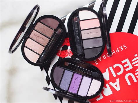 Sephora 5 Eyeshadow Palette review sephora collection colorful 5 eyeshadow palettes