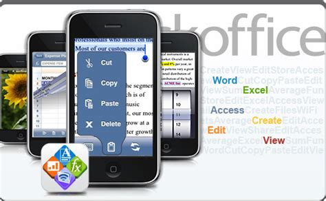 office suite for mobile quickoffice mobile office suite for iphone updated to 1 2