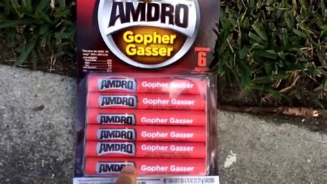 how to get rid of gophers in your backyard how to get rid of gophers and moles with amdro gopher gasser youtube