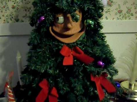 telco singing christmas tree quot mr everett green quot new