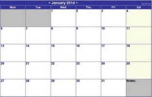 Basic Calendar Template by 15 Free Printable 2014 Calendar Templates Xdesigns