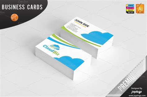 cloud business card template 80 modern stationery templates design shack howldb