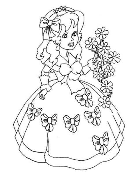hard coloring pages princess barbie outline www pixshark com images galleries with
