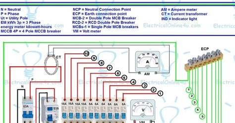 wiring diagram for a rcd unit three prong wiring