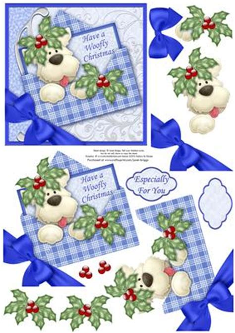 Free Decoupage Downloads For Card - westie in envelope decoupage cup273296 68
