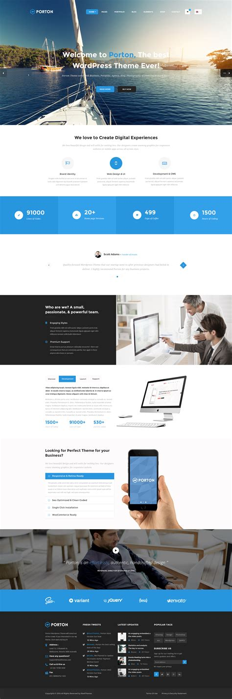the galaxy design driven multipurpose wordpress theme porton design driven multipurpose psd by steelthemes