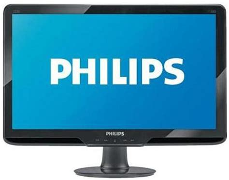 Monitor Led Philips 166v3l philips widescreen led monitor swisspac my