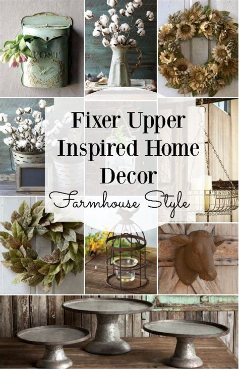 fixer upper decor farmhouse style home decor inspired by fixer upper