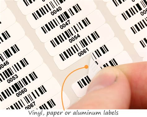 smallest printable avery label tiny barcode labels myassettag com