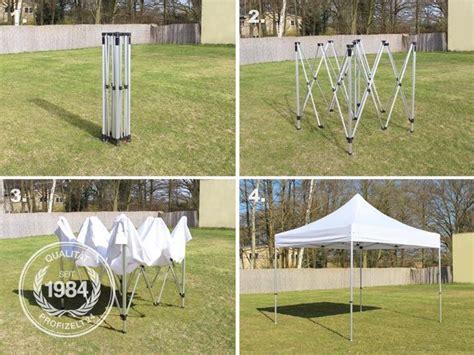 Faltpavillon 3x3 by Faltpavillon 3x3 M Alu Faltzelt Mit 4 Seitenteilen