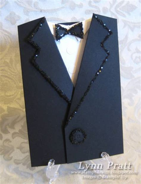 paper tuxedo wedding card template tuxedo pocket card by lpratt at splitcoaststers