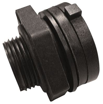 Tight Seal Plumbing by Genova Products 1 2 Quot Bulkhead Fitting 38805