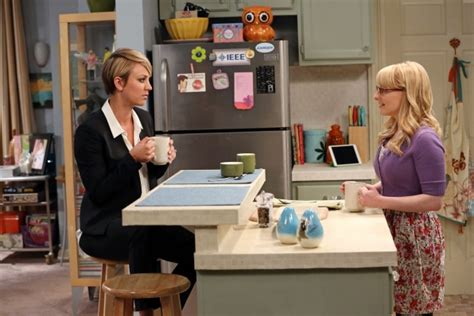 kaley cuoco new haircut episode the left over thermailzation the big bang theory season 8 spoilers how did episode 1