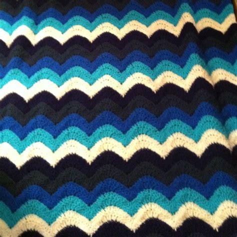 small ocean waves crochet blanket in beautiful blues 45 best images about crochet ocean afghan ideas on