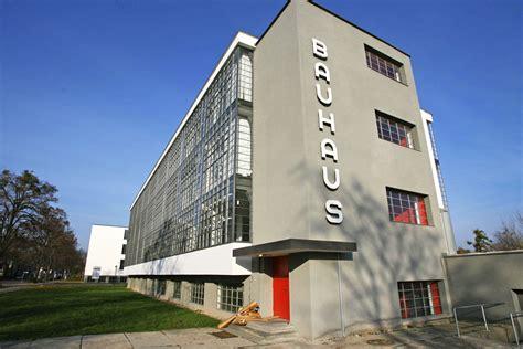 bauhaus architektur merkmale walter gropius and bauhaus architecture photos