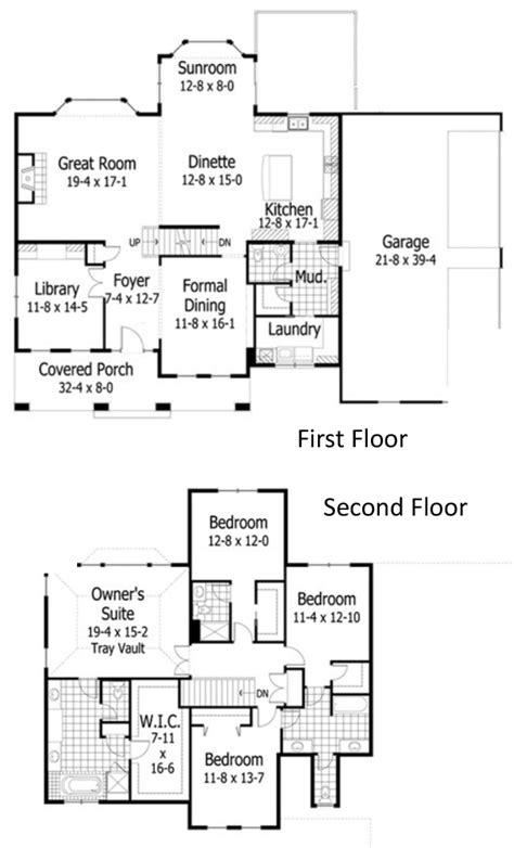 10 Landing Floor Plan - cazenovia a 4 bedroom 3 5 bath home in vischer s landing