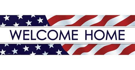 Welcome Home welcome home banner std birthdayexpress