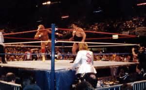 Wrestlemania Pontiac Silverdome My Wwf Wrestlemania Iv Pictures From 1988 Genoswebsite