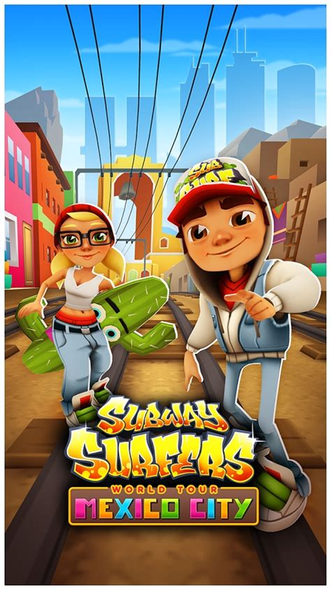 subway surfer apk subway surfers gets mexico city world tour on android and windows phone