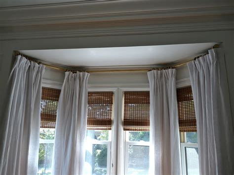 bow window decorating ideas interior two curtains on bow window home decor waplag