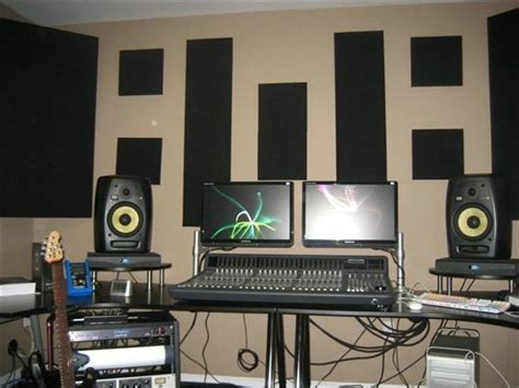 Small Home Studio Acoustic Treatment 365 Best Images About Acoustic Treatment For The Recording