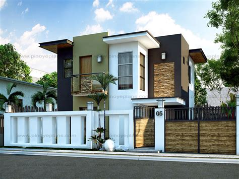 modern house design series mhd 2015016 pinoy eplans