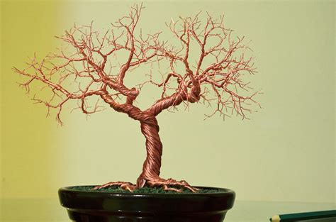 wire tree sculpture by minskis on deviantart