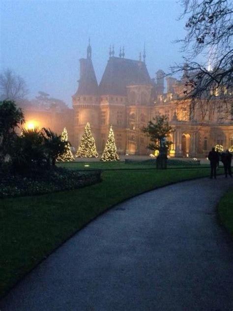 manor string lights lights at waddesdon manor waddesdon