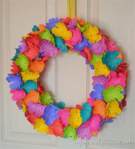 paper flower wreath tutorial 301 moved permanently