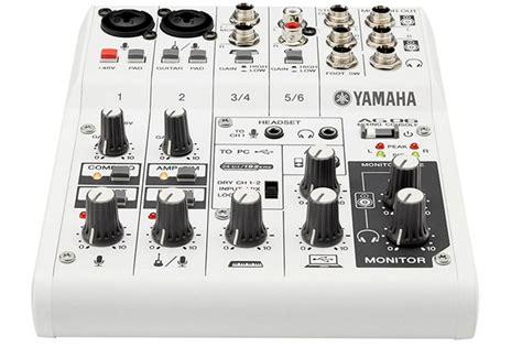 Mixer Yamaha Ag06 yamaha ag06 6 channel usb mixer heid