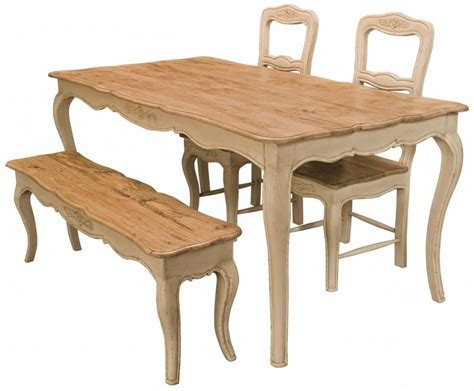 wooden kitchen bench seat french style antique farmhouse kitchen table with 2 chairs
