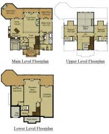 mountain house floor plans dream home pinterest