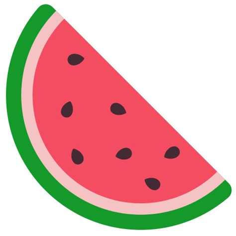 watermelon emoji file fxemoji u1f349 svg wikimedia commons